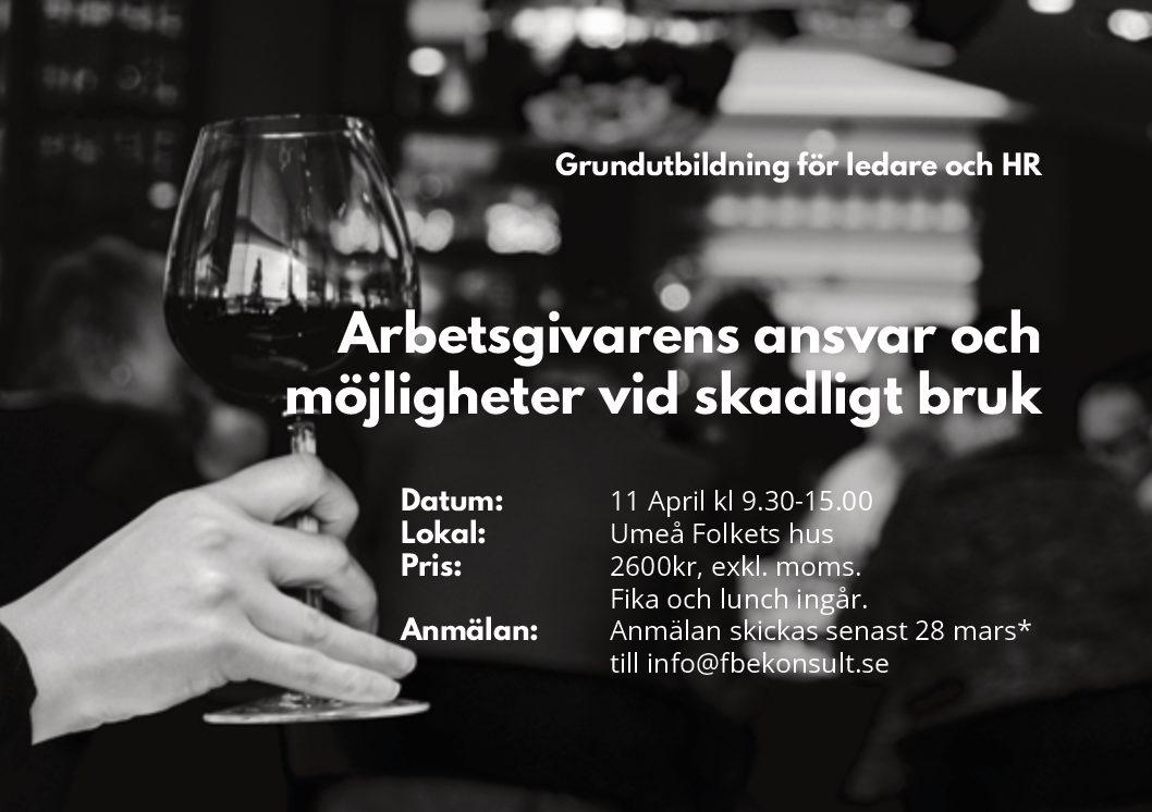 Ledarutbildning, Umeå 11 april